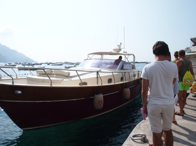 Beautifully crafted boat - Positano
