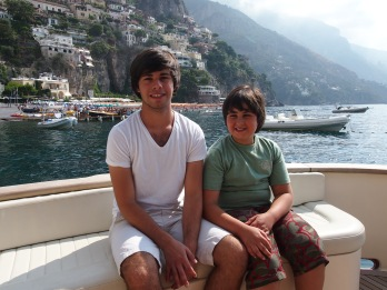 Cruising the Amalfi Coast