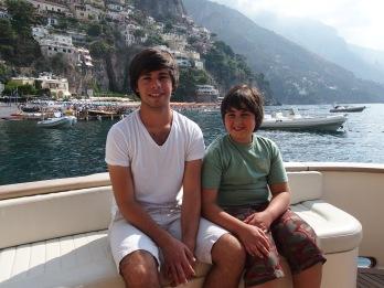 Cruising the Amalfi Coast