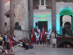 Roman play at Diocletian Palace