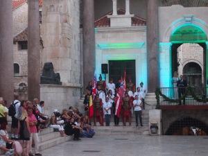 Roman play at Diocletian Palace