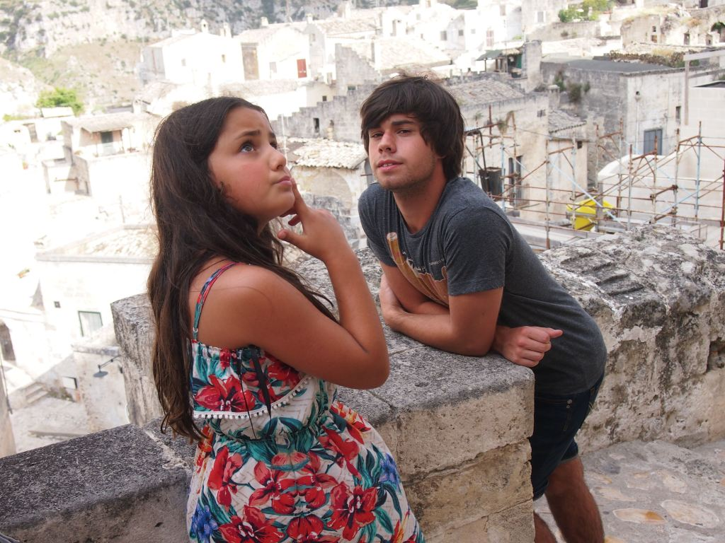 Allanah and Thomas deep in thought..