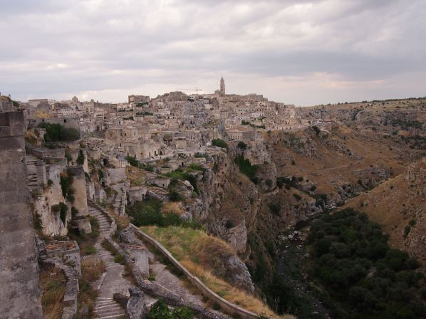 The town of Matera