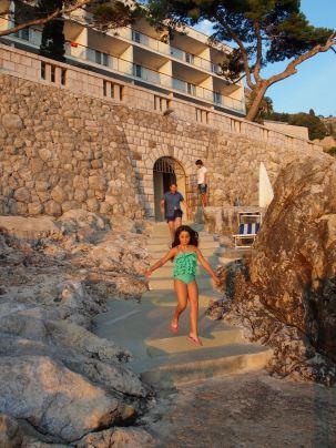 Sea access - Villa Dubrovnik