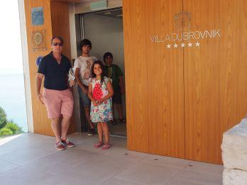 Entrance to Villa Dubrovnik