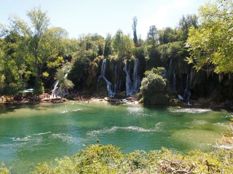 Kravice waterfall - Bosnia