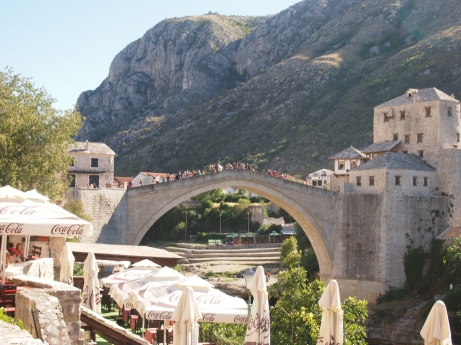 The famous Stari Most- Old Bridge