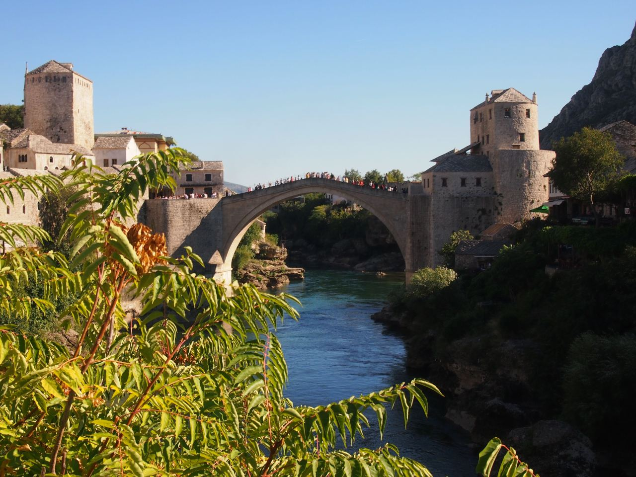 Bosnia and Herzegovina – A day swimming with snakes in Kravice Falls and exploring  the Ottoman town ofMostar