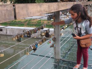 Butcher's Bridge - Ljubljana's love bridge