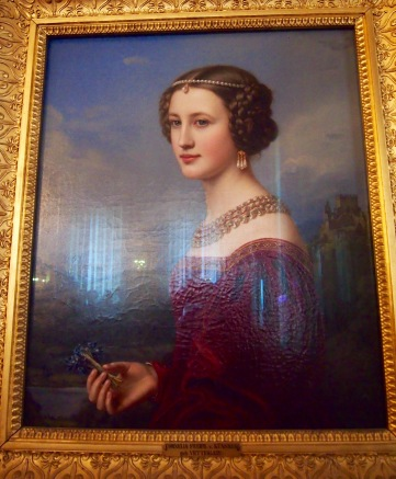 Cornelia von Kunsberg - daughter of the Bavarian State Councillor