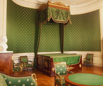 The Queen's bedroom - King Ludwig II's birthplace