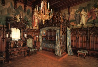 Neuschwanstein Castle Bedroom